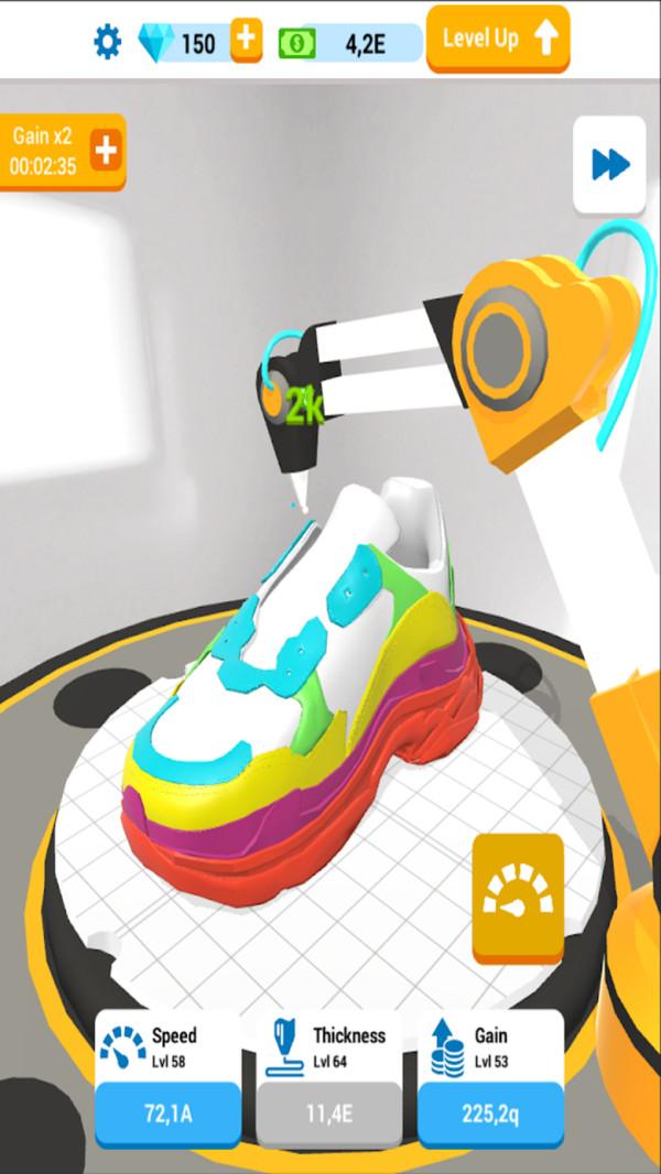 闲置的3D打印机