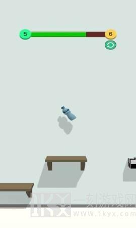 瓶子旋转跳跃