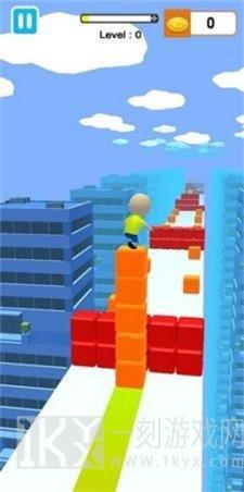 果冻块冲浪3D