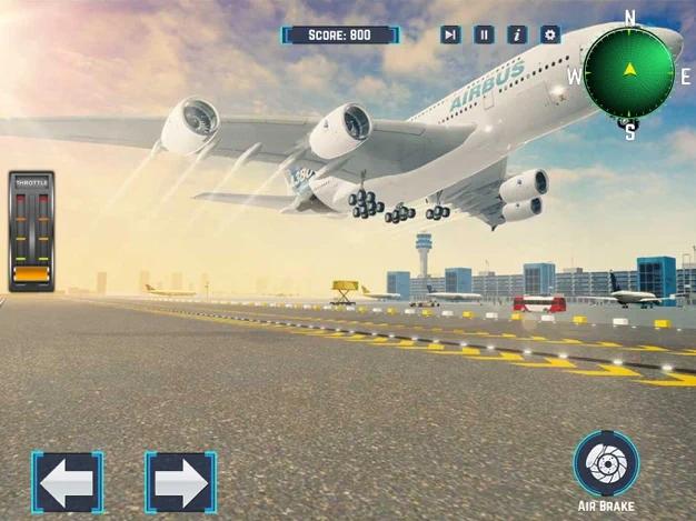 乘客飞机航班模拟