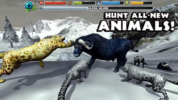 终极雪豹模拟器