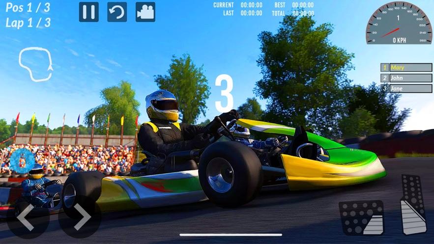 卡丁车驾驶和赛车模拟2021