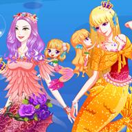 美人鱼公主豪华装扮
