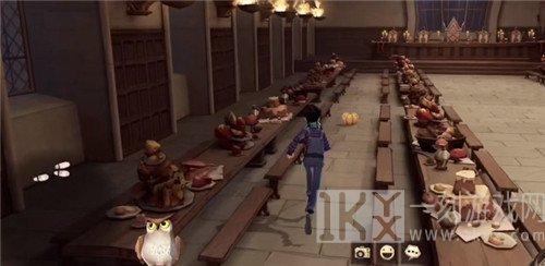 哈利波特魔法觉醒游戏的食堂在哪个位置