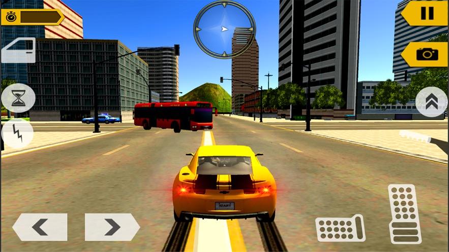 质朴的出租车驾驶模拟器截图