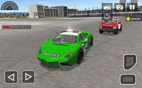 市警察驾驶汽车模拟器截图