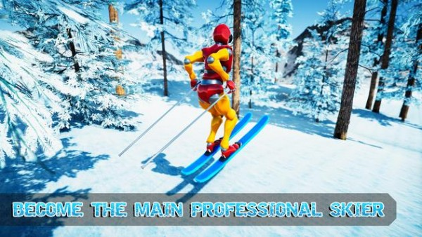 高山特技滑雪截图