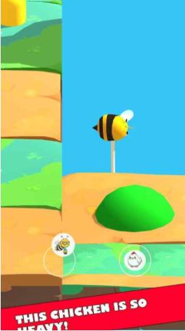 小鸡和蜜蜂截图