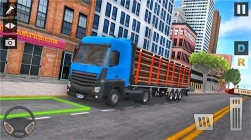 城市运输卡车停车场截图