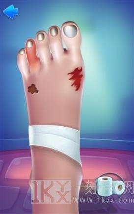 脚部护理模拟
