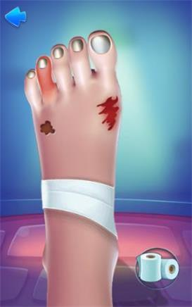 脚部护理模拟截图