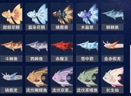 原神鱼饵都需要哪些材料 鱼饵合成材料和方法的全部汇总