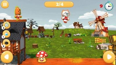 弹跳蘑菇截图