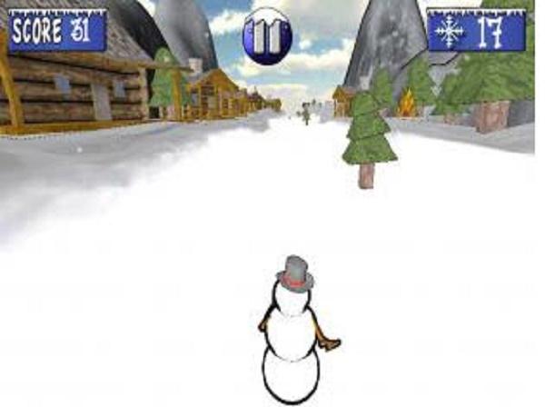 雪人酷跑截图