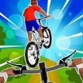 模拟飞行自行车