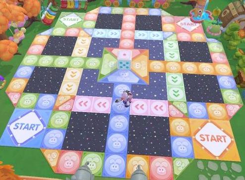 摩尔庄园飞行棋怎么玩 飞行棋布局的方法