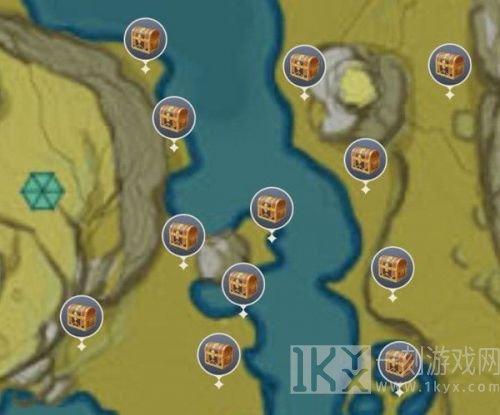 原神蒙德逐月符具体位置在哪里 原神30个蒙德逐月符位置汇总