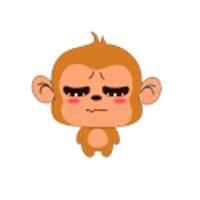 小猴子斗图表情