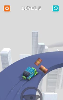 货车漂移冲撞截图