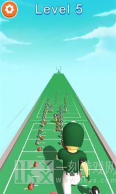 橄榄球运动跑酷
