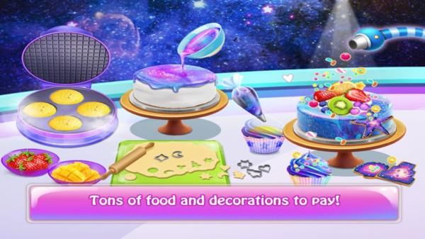 星空甜品制作截图