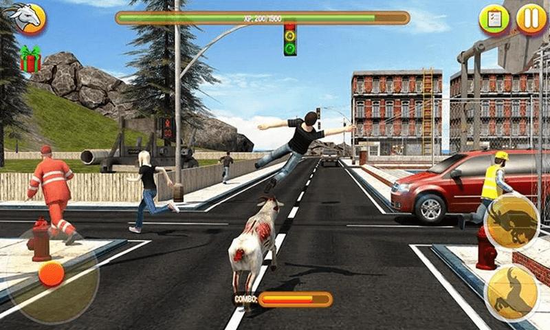 模拟狂野山羊截图