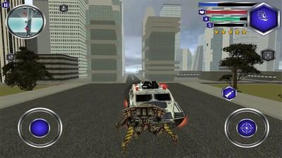 飞行机器人战斗模拟器截图