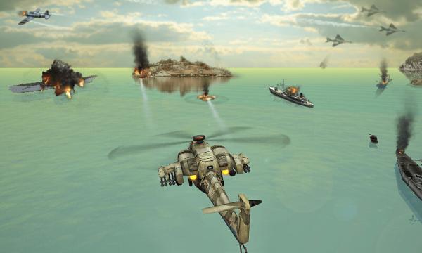 直升机空袭战3D截图