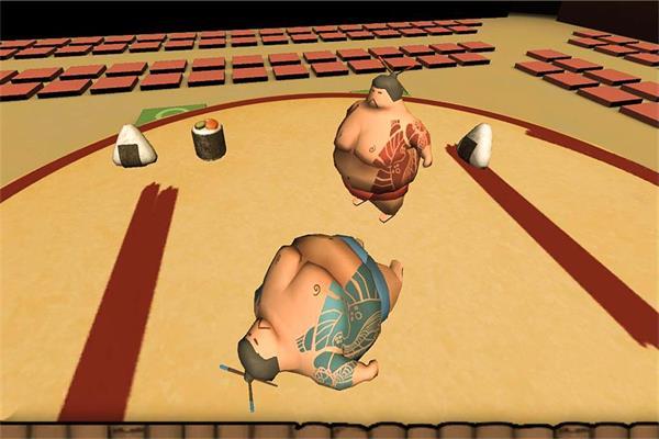 摔跤相扑比赛截图