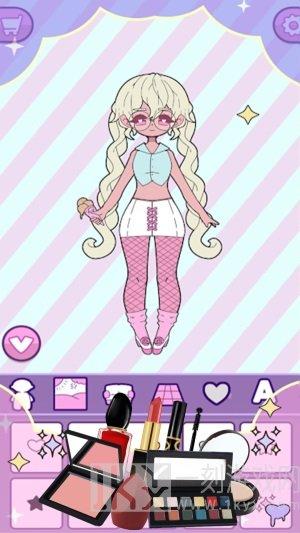 萝莉装扮公主
