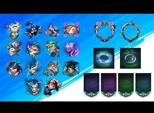 英雄联盟手游2.5版本新增表情头像大全 英雄联盟手游2.5版本新增表情头像一览